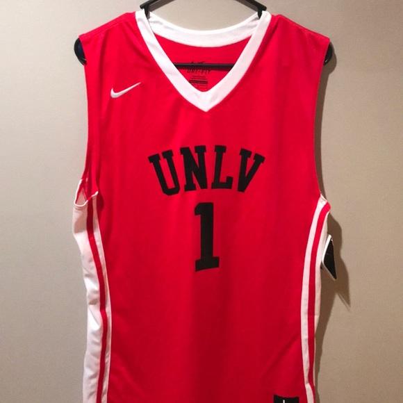size 40 2a25a a0923 UNLV Men's Basketball Jersey